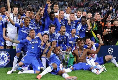Fase de grupos definida para champions league