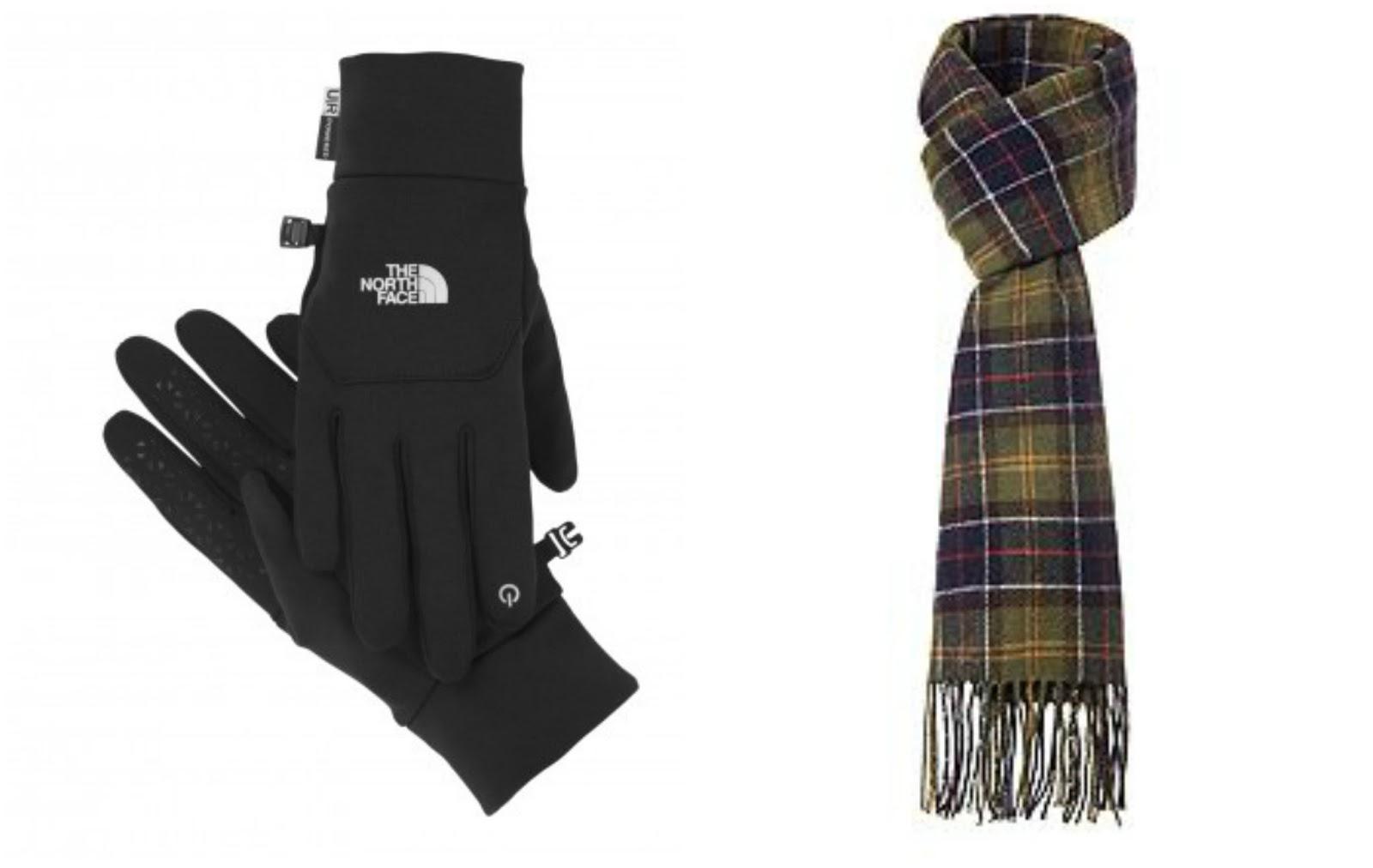 barbour tartan scarf north face glovesjpg