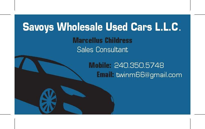 Anna meleney porfolio used car sales business cards summer 13 used car sales business cards summer 13 colourmoves