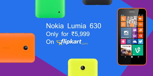 lumia 630, flipkart