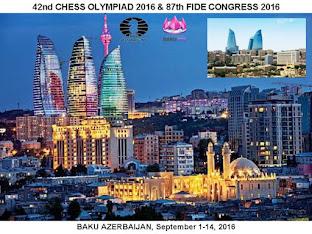 Foto dari Olimpiade Catur ke 42/2016 di Baku Azerbaijan