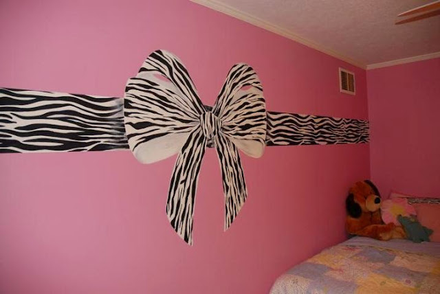 paint ideas pink zebra room