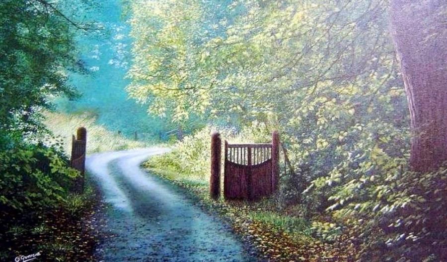Cuadros modernos pinturas y dibujos puertas de madera for Puerta 7 campo de mayo
