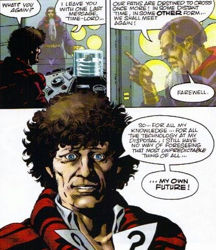We Say Goodbye To The Fourth Doctor With This Quick But Richly Detailed Prequel Tides Of Time It Easily Stands Up In Its Own Right Though