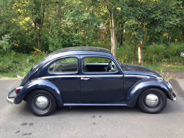 1962 VW Classic Beetle For Sale