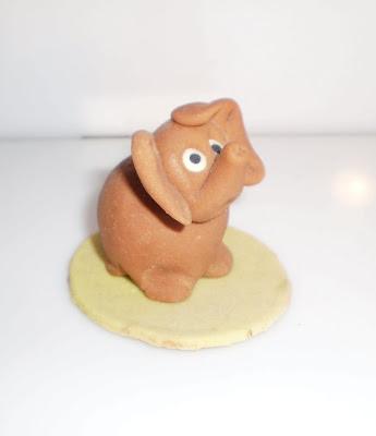 Marcipán elefánt