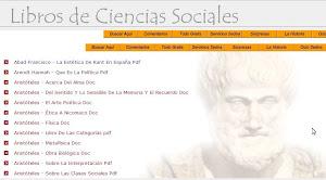 Libros de Ciencias Sociales Gratis