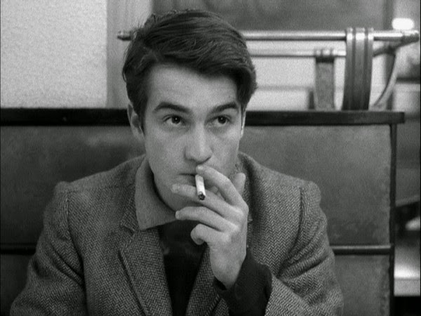 Jean-Pierre Léaud in Masculin Feminin
