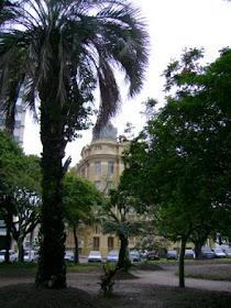 Praça Cnel Pedro Osório e Grande Hotel