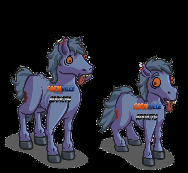 Farmville addicts experts unreleased zombie horse for Farmville horse
