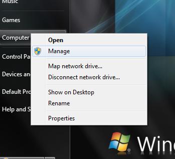 Setelah keluar jendela pilih Disk Management lalu pilih Drive yang ...