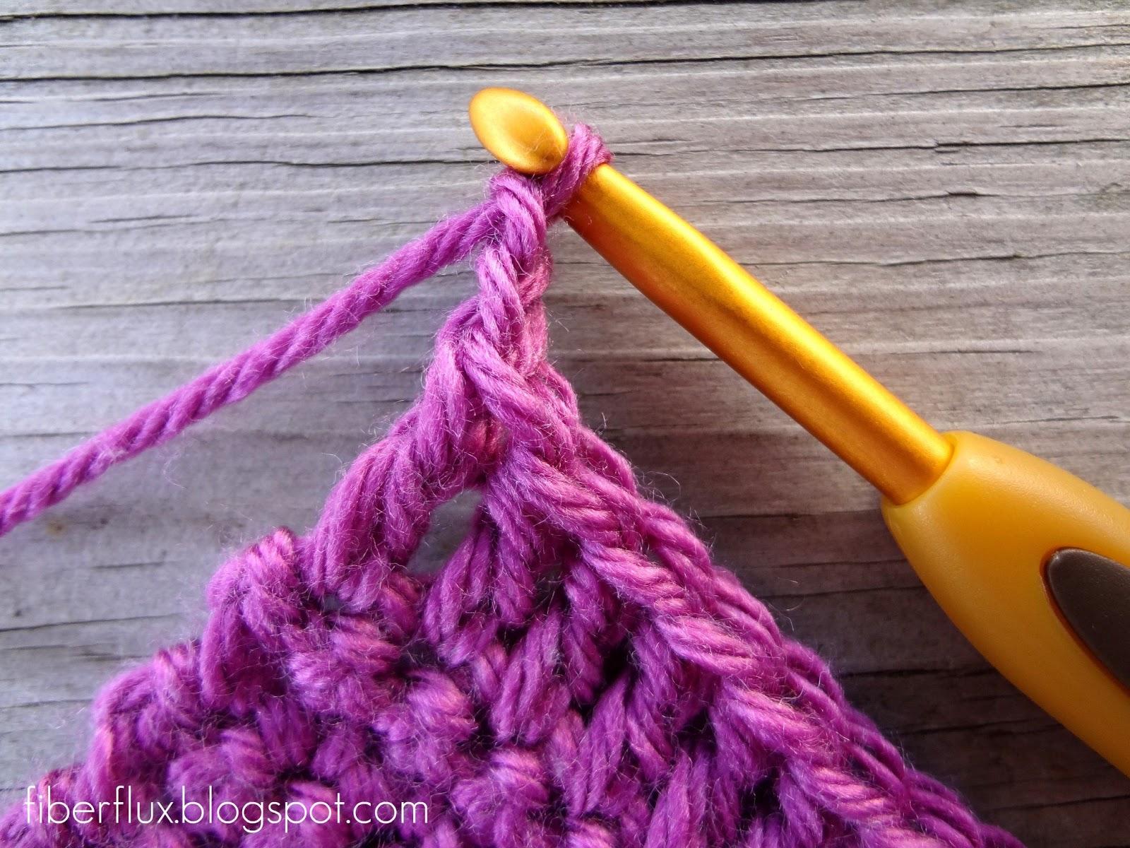 Striped Half Double Crochet Dishcloth Pattern | Stitching ...
