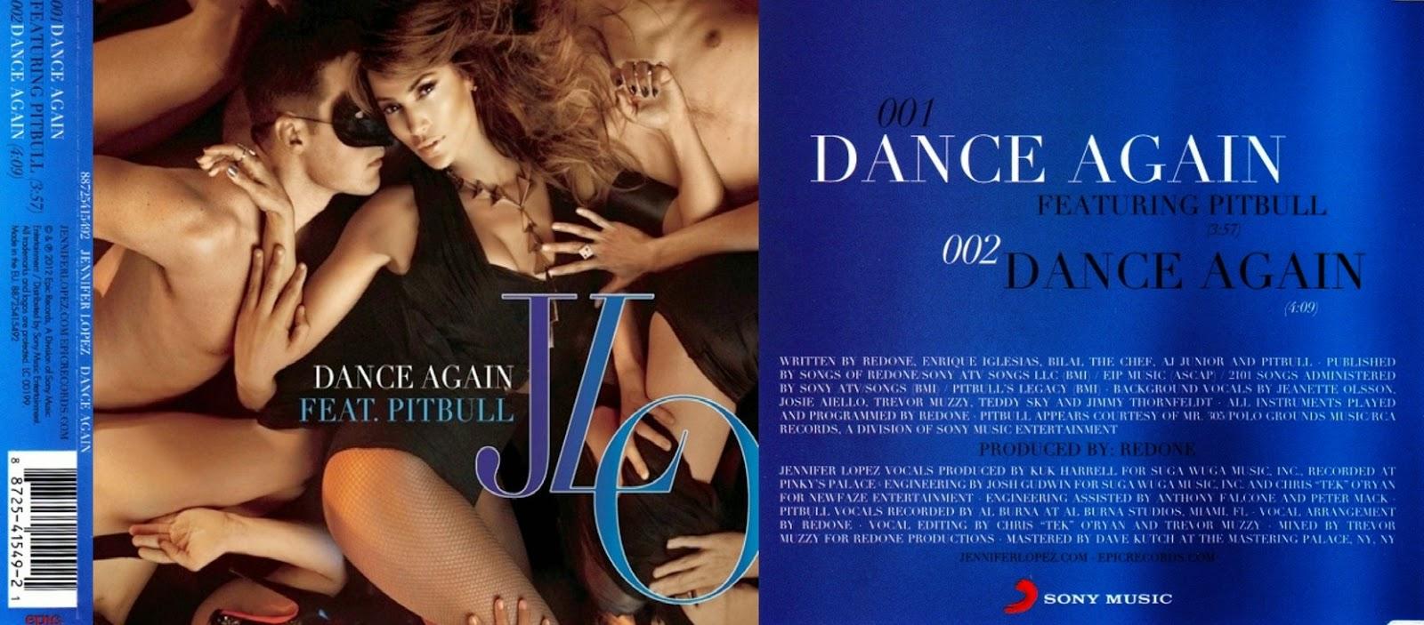 Apesar Do Single Nao Ter Superado A Popularidade Da Parceria Anterior Dance Again Conseguiu Boas Posicoes Nas Paradas Musicais Tags Booklet Jennifer Lopez
