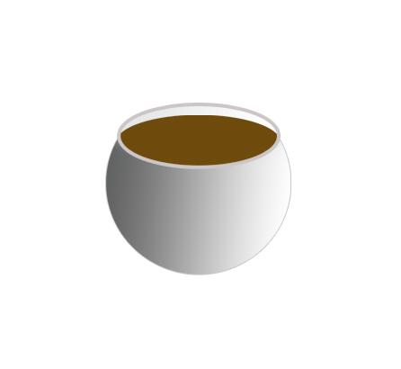 air kopi yang telah selesai