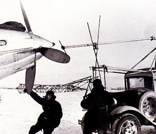На Ил-2 не было электростартера