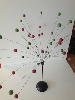 60s Kinetic Atomic Ball Sculpture Mid Century Modern Laurids Lonborg Eames Era