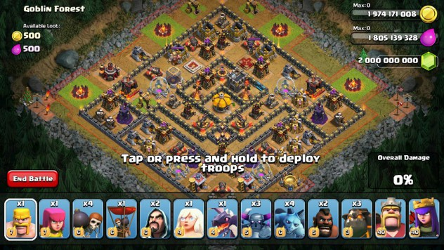 ... ကးမုံ: Clash of Clans (CoC) 10.2 Unlimited Mod/Hack GEM APK