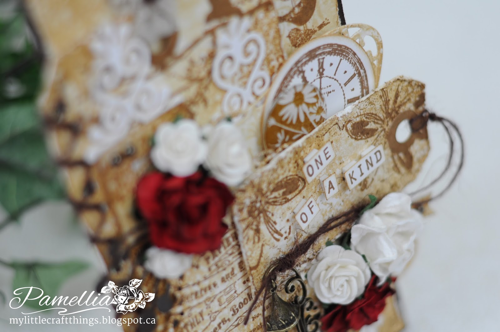 My little craft things one of a kind tim holtz inspired for Tim holtz craft mat