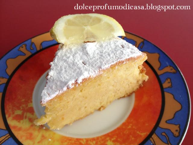 torta di mandorle e limoni, un paradiso estivo