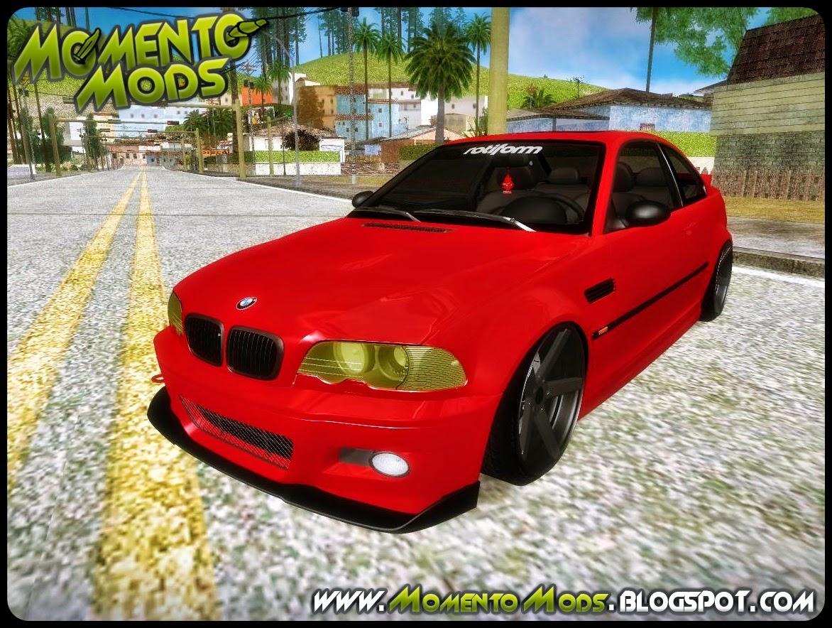 GTA SA - BMW E-46 Stance