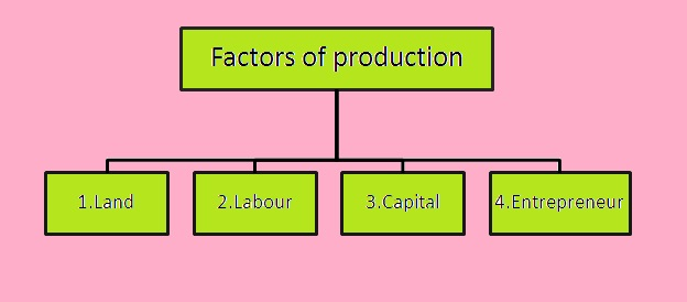Economics - my favourite: Factors of production
