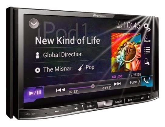 """Teknovanza.com - Perusahaan terkemuka dalam sistem hiburan di mobil """"Pioneer"""" , telah memperkenalkan AVIC-F60BT."""