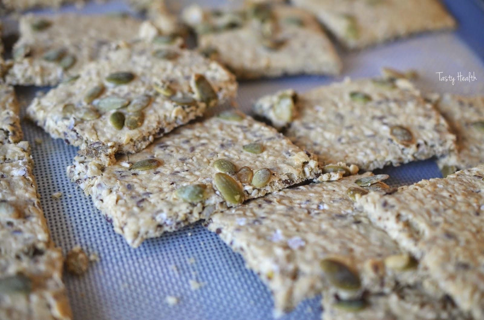glutenfritt knäckebröd recept