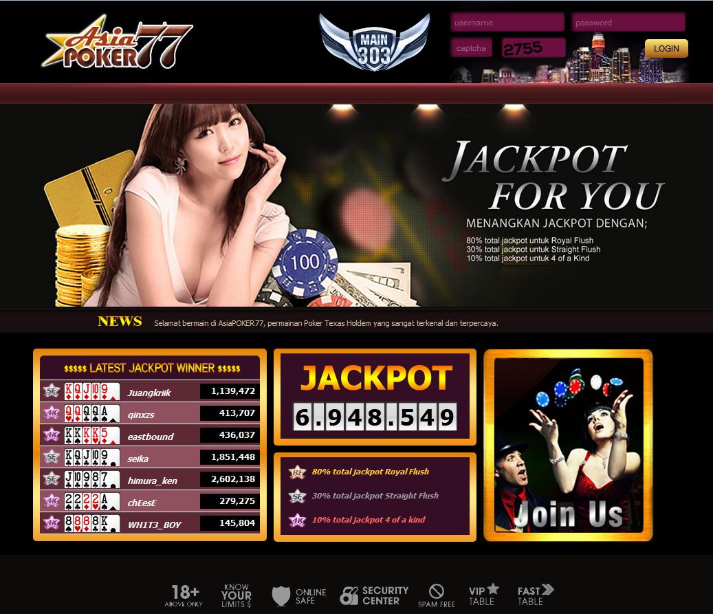 Situs Judi Poker Online Terbaik & Terpercaya