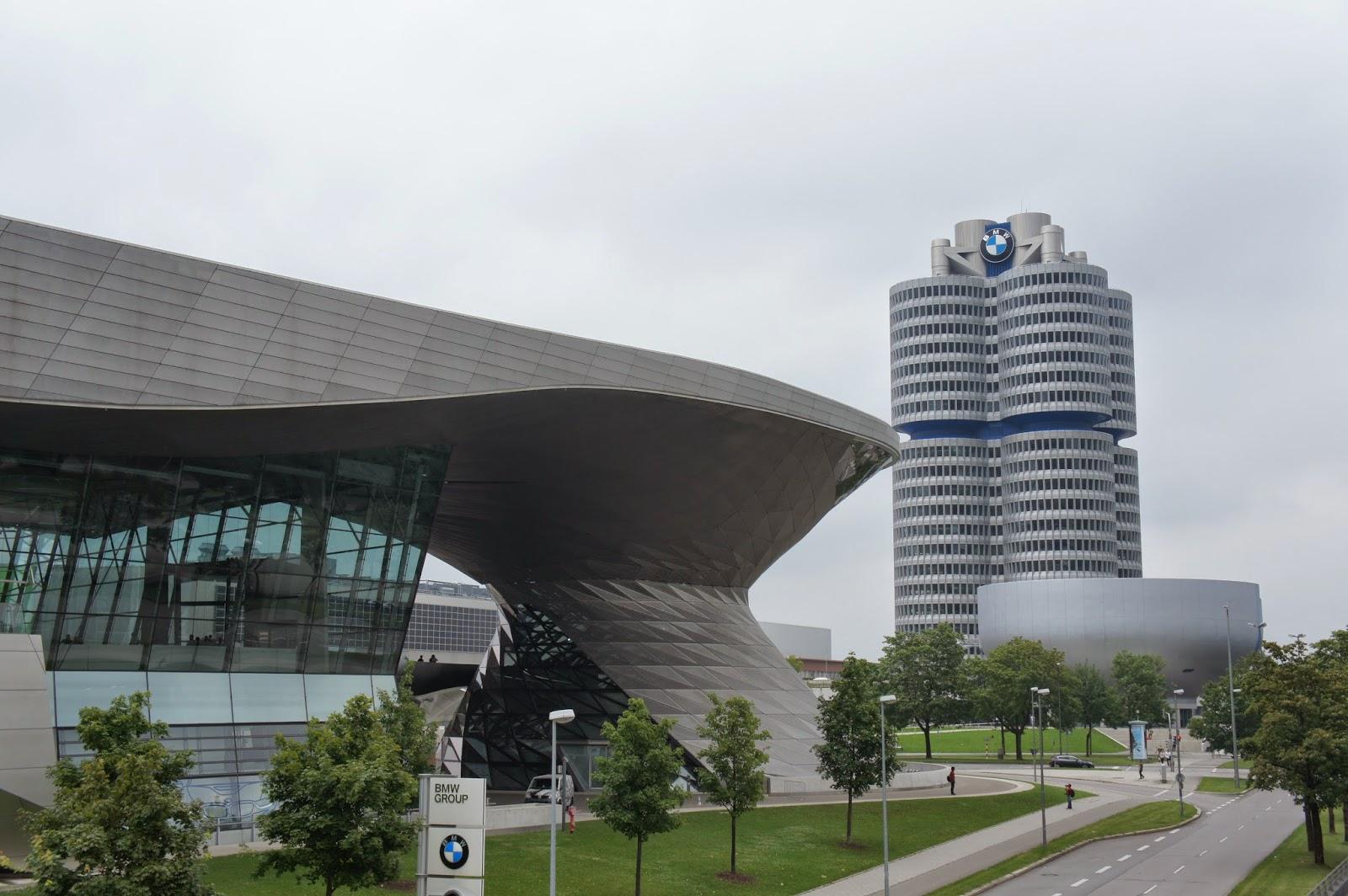 Museo y BMW-welt