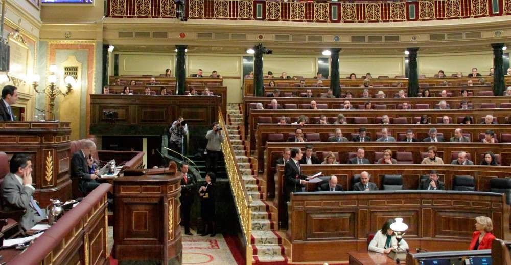 Trabajo parlamentario en el Congreso de los Diputados