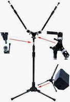 Triad Orbit mic stands