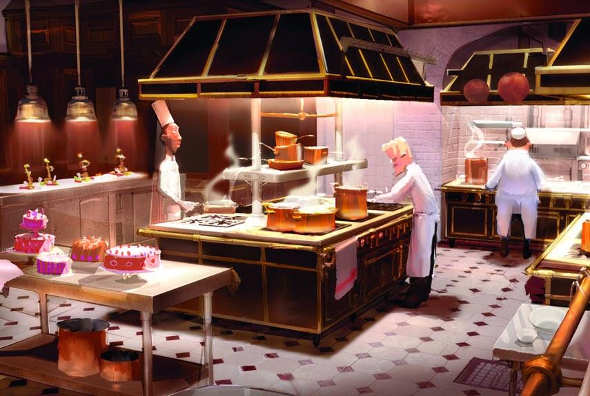 Διάσημα σπίτια: κουζίνα Ρατατούιγ