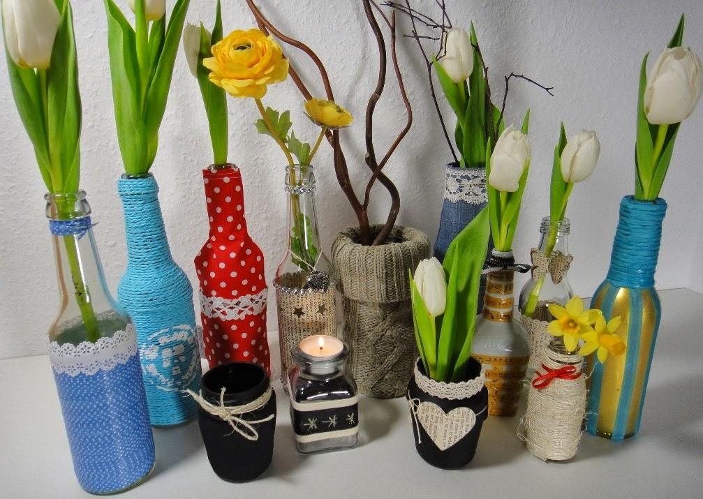 Recycling design flasche  Ines Felix - Kreatives zum Nachmachen: Flaschenrecycling und ...