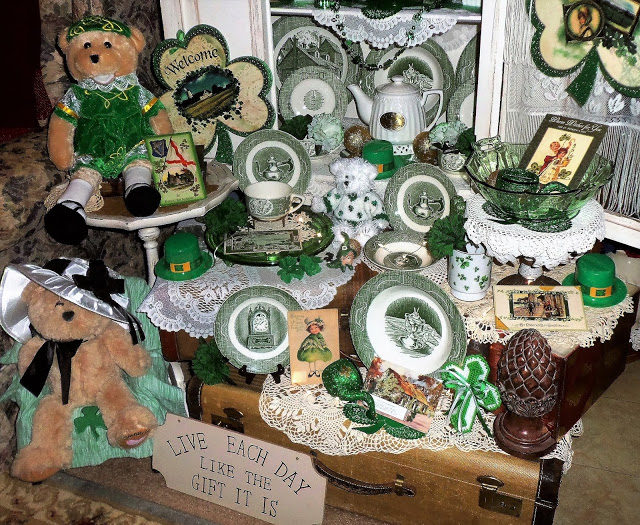 St. Patrick's China Cupboard, Part 2, 2017