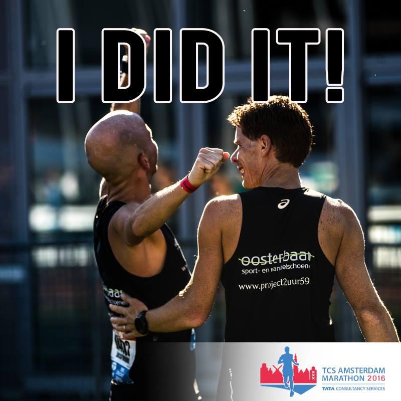 okt'16 marathon Amsterdam