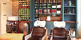 Industrial Styling Softened by French Shabby Chic at Boilerhouse!