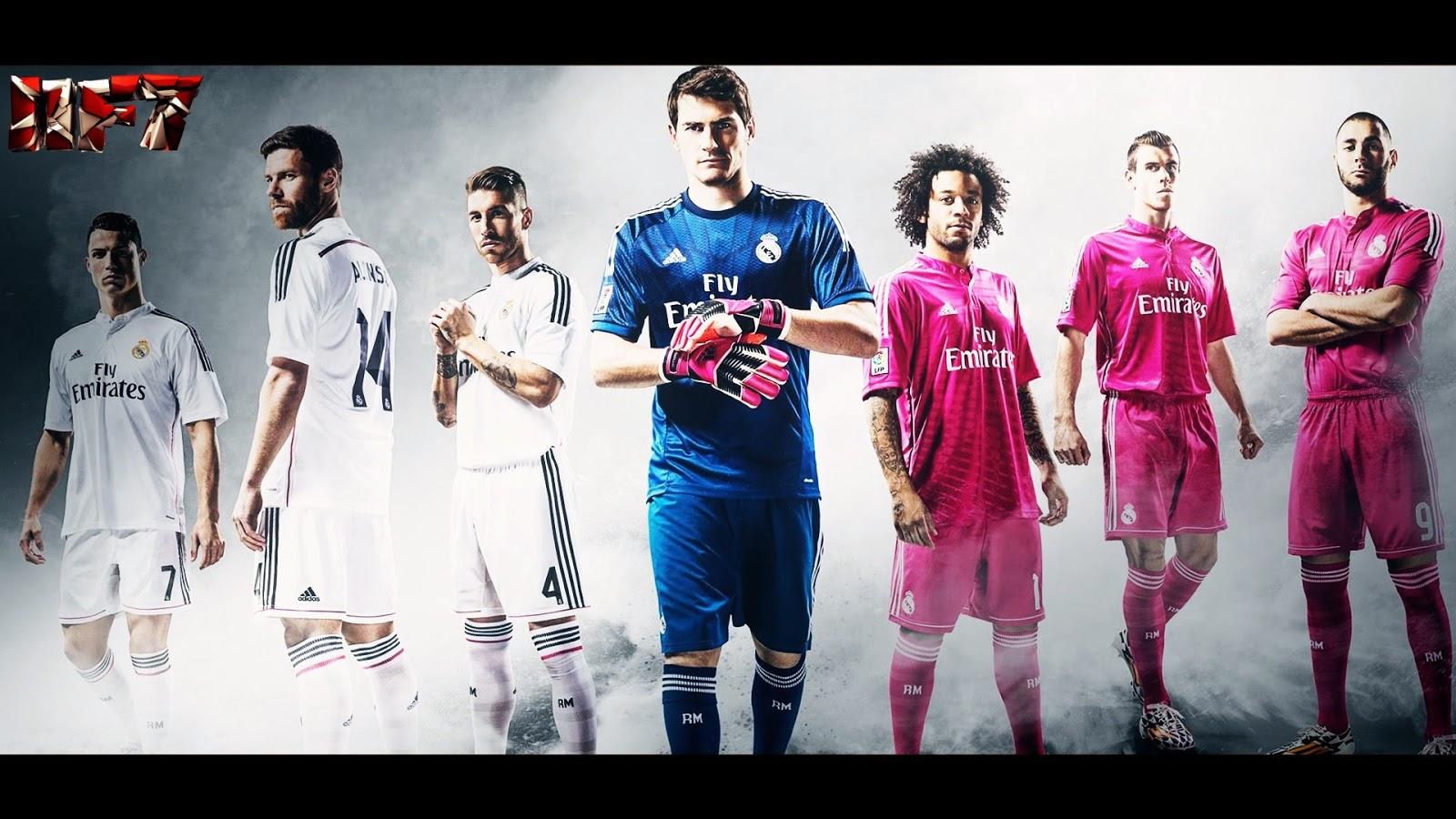 Real Madrid CF 2015 First Team Squad Wallpaper hd
