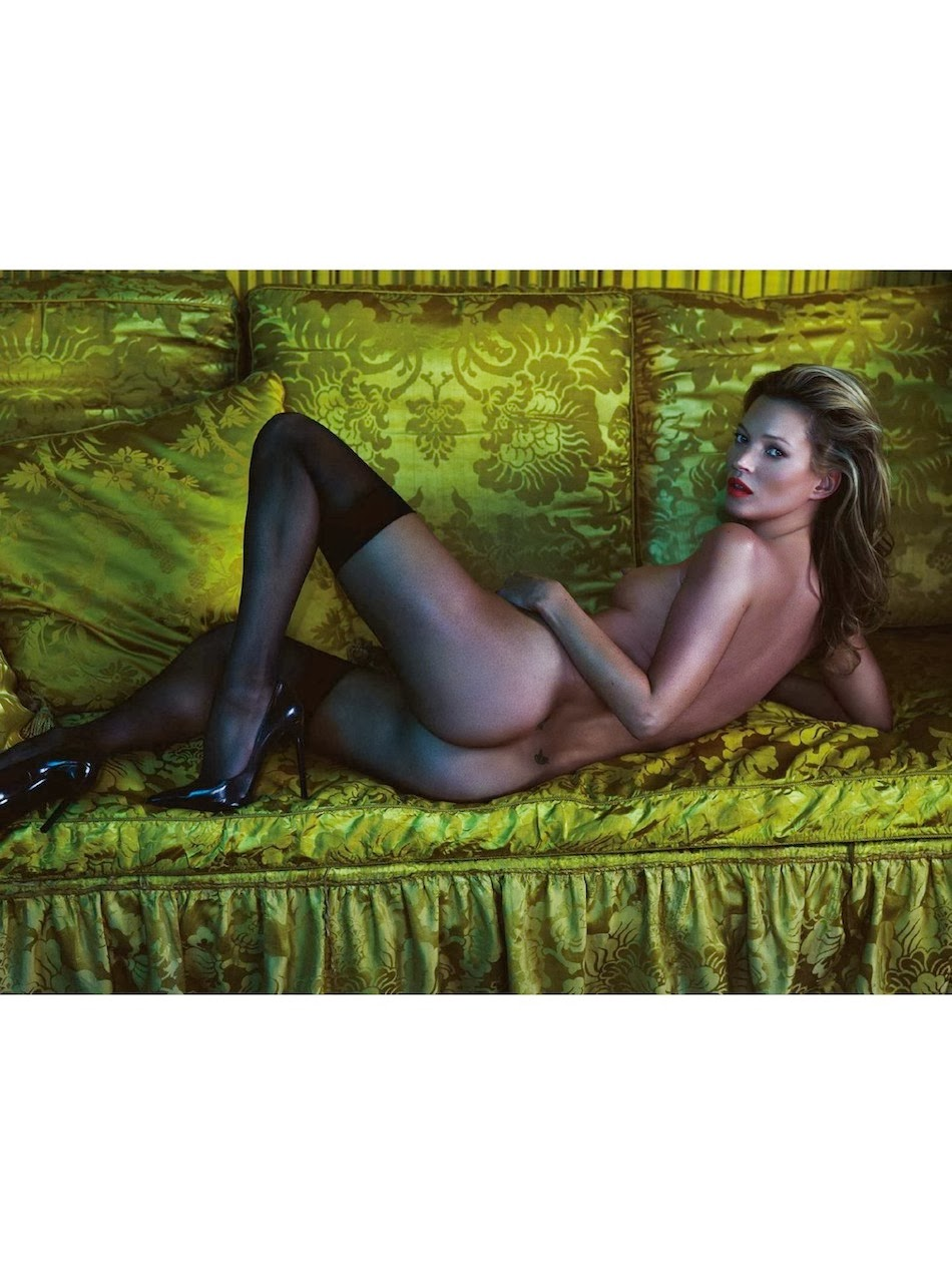 Kate moss first nude think
