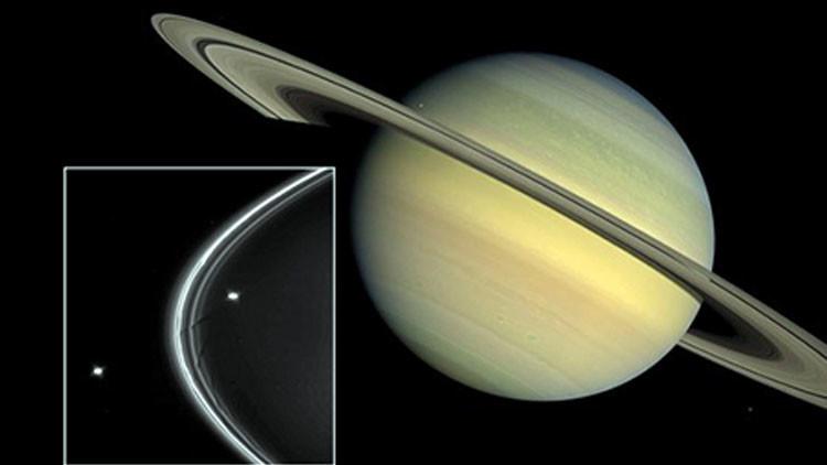 Explicación del anillo de Saturno.