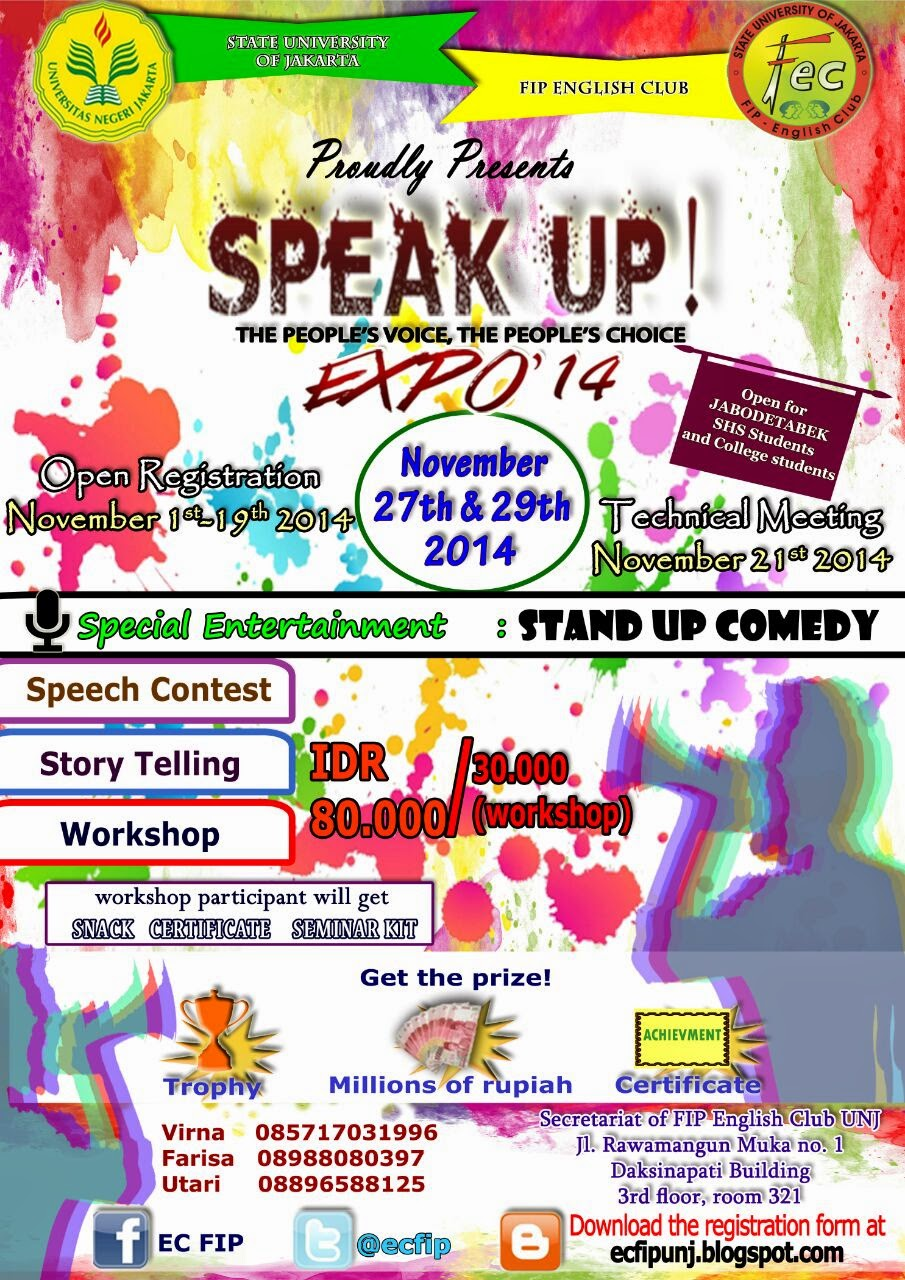 Speak Up! EXPO '14