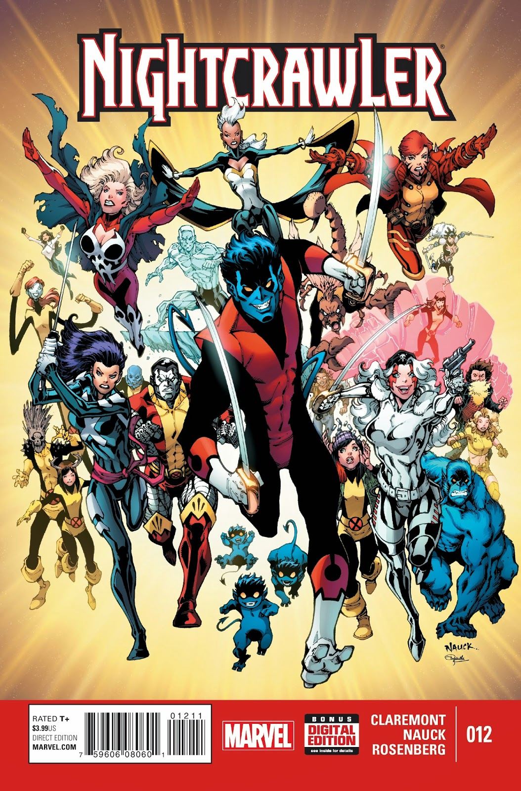 Nightcrawler's grand finale