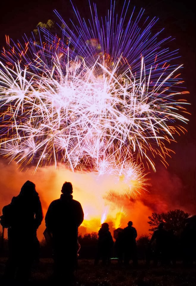 Aurora Fireworks