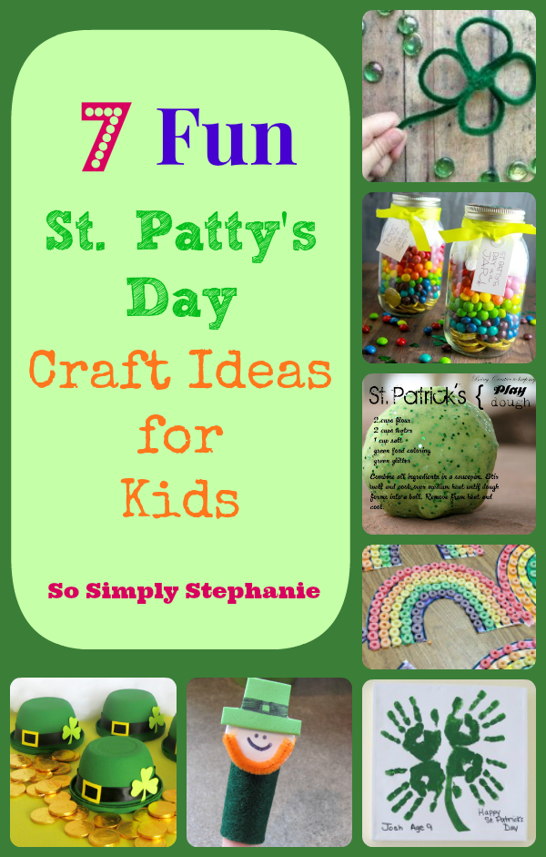 So simply stephanie 7 fun st patrick s day crafts for kids
