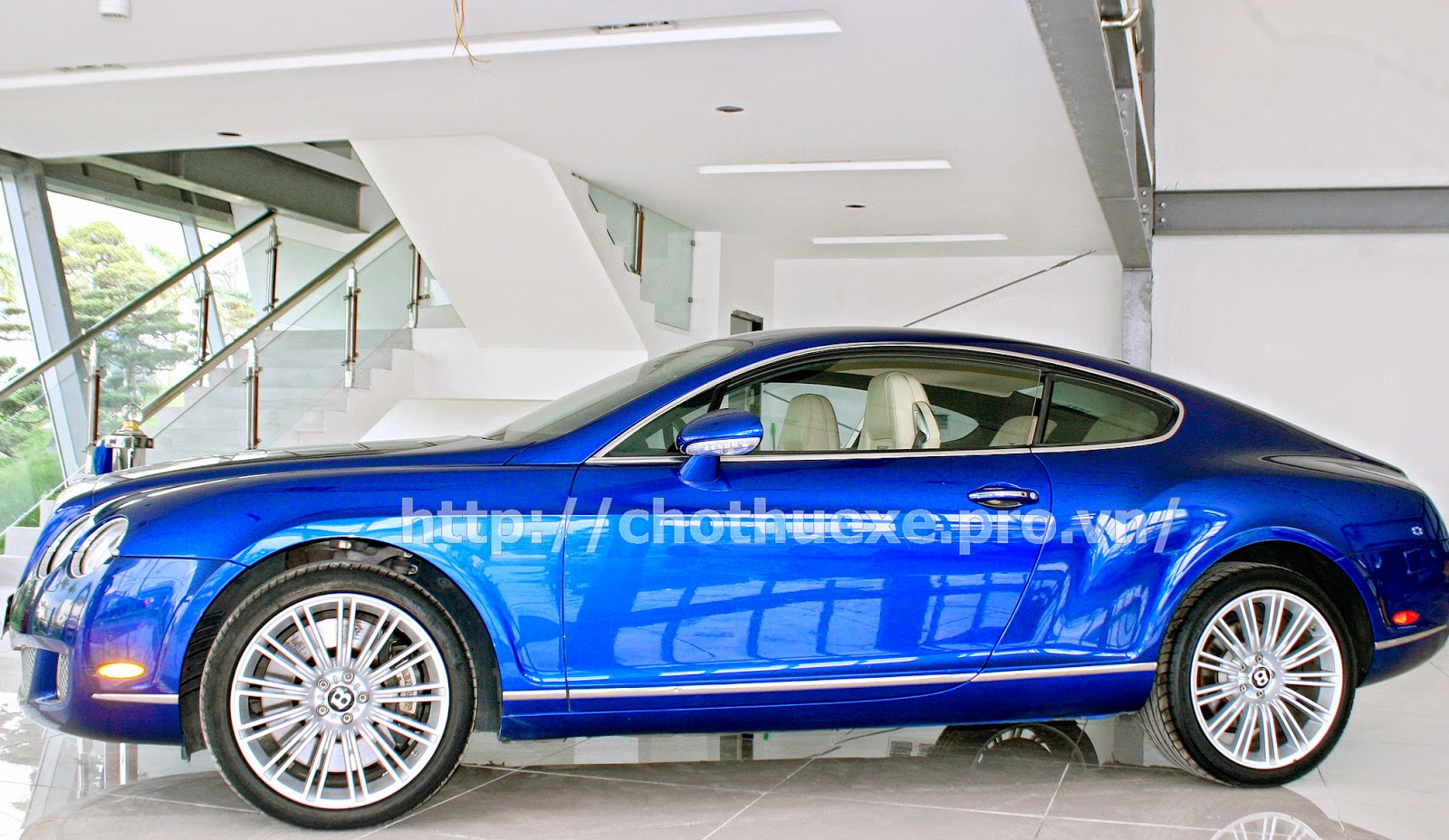 Cho thuê xe Bentley Coninental GT Speed 1