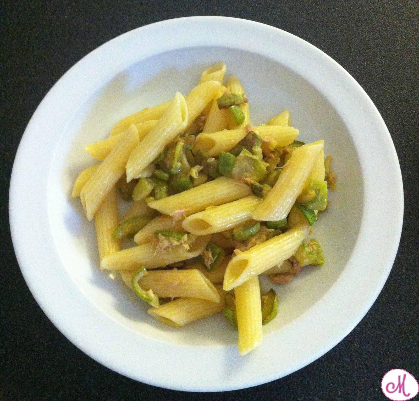 pasta fredda zucchine e tonno