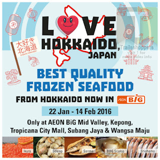 AEON BIG Love Hokaido Japan Frozen Seafood