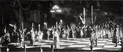 Ajedrez Viviente en Barcelona 1904