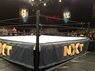 NXT WWE Josh Sara wrestling ring