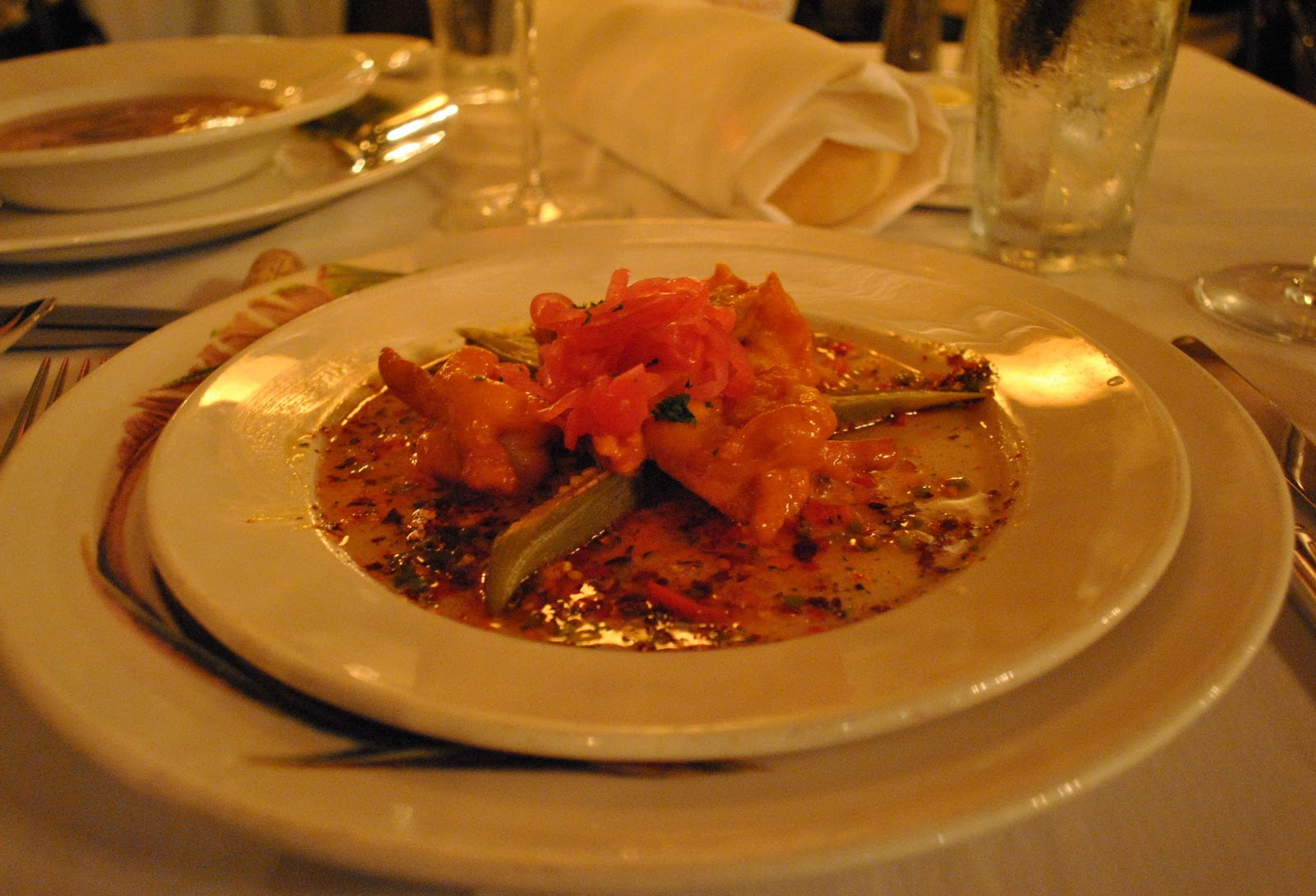Commanders Palace Shrimp New Orleans