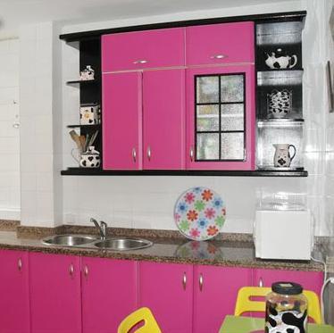 Como pintar muebles de cocina aprender hacer bricolaje for Pintar muebles de formica